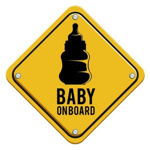 oplatek-na-tort-Baby-on-board