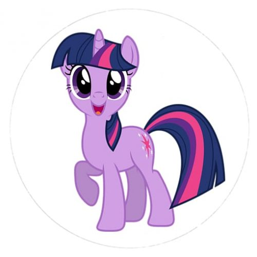 oplatki-oplatek-na-tort-twilight sparkle